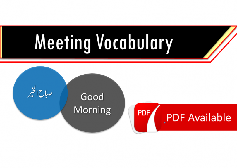 everyday dialogue in English-Arabic