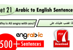 useful arabic phrases with english