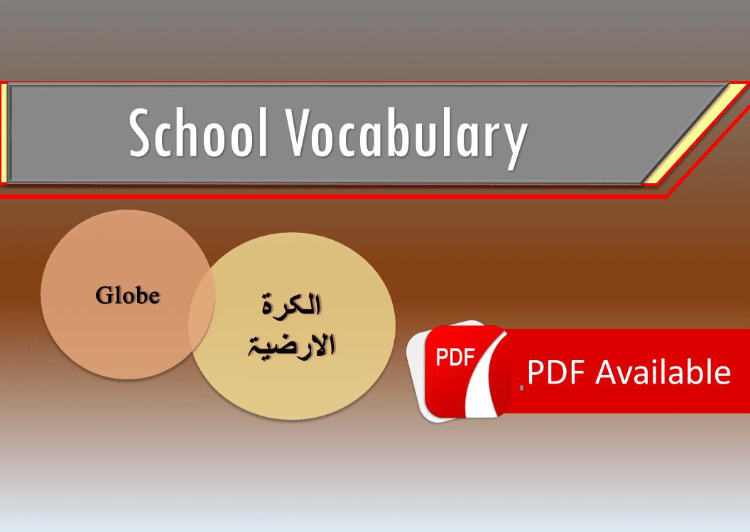 Arabic English Vocabulary. Vocabulary of Arabic with translation in English and Urdu Urdu translation in Arabic and English.