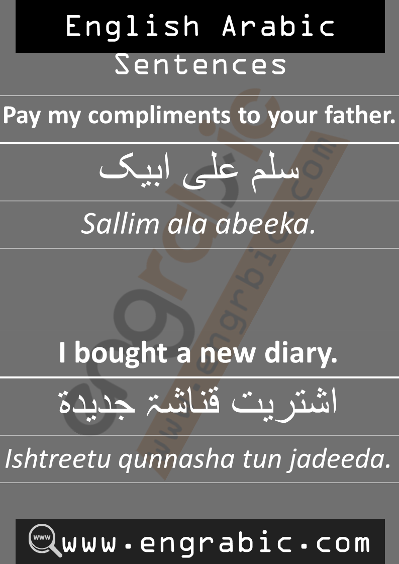 English phrases in Arabic.Daily use English Sentences.Daily routine Arabic sentences.Spoken Arabic sentences with English.Common Arabic Phrases.