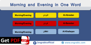 Arabic Vocabulary Archives | Engrabic