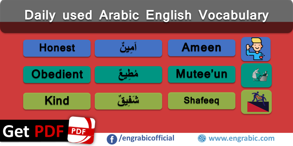 General Qualities of Human in Arabic and English | Engrabic