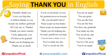 Saying thank you has power. It can help you feel gratitude, share joy and kindness with others, and make other people smile and feel happy. I want you to know how ALL the different ways to say thank you in English so you can express your appreciation in any situation. Here is a list of 100 Expressions which will tell you how Say Thank You in different Ways