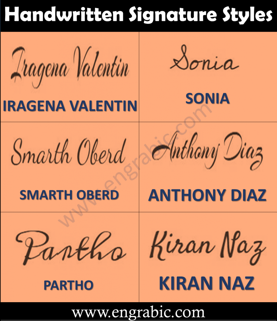 1000+ Handwritten Signature Styles from A to Z. We have covered a huge list of signatures and we tried covering almost all the names but if your name is not in the list please comment your name so that we add a beautiful signature of your name.